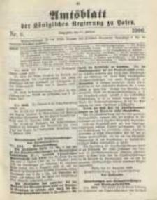 Amtsblatt der Königlichen Regierung zu Posen. 1900.02.27 Nro.9