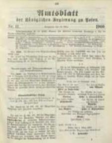 Amtsblatt der Königlichen Regierung zu Posen. 1900.03.13 Nro.11