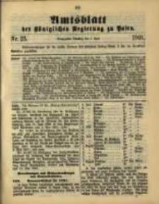 Amtsblatt der Königlichen Regierung zu Posen. 1901.06.04 Nro.23