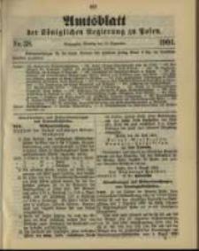 Amtsblatt der Königlichen Regierung zu Posen. 1901.09.17 Nro.38