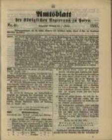 Amtsblatt der Königlichen Regierung zu Posen. 1901.10.01 Nro.40