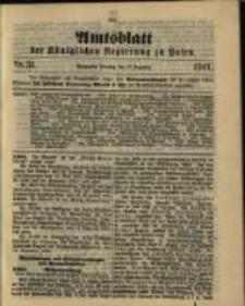 Amtsblatt der Königlichen Regierung zu Posen. 1901.12.17 Nro.51