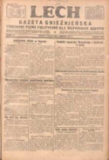Lech.Gazeta Gnieźnieńska: codzienne pismo polityczne dla wszystkich stanów 1931.08.04 R.32 Nr177