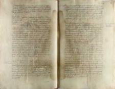 Littere passus dla Wilhelma, kupca krakowskiego, udającego się do Anglii i Szkocji, ok. 1552