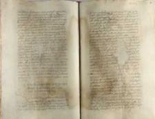 Contractus de matrimonio inito per Albertum Czarnkowski cum Barbara comite de Gorka, Wilno 14.06.1554