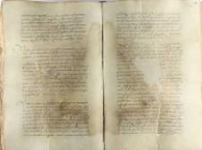 Stanisław Tęczyński, kasztelan lwowski, wykupuje z rąk Marcina Grocholskiego wójtostwa Okalów i Humnin i przyłącza je do starostwa lubelskiego, Gdańsk 18.08.1552