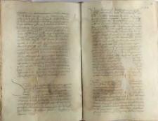Odesłanie do sejmu lubelskiego sporu o 1000 marek między zarządcą skarbu królewskiego a magistratem gdańskim, Knyszyn 21.01.1554