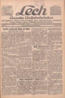 """Lech.Gazeta Gnieźnieńska: codzienne pismo polityczne dla wszystkich stanów. Dodatki: tygodniowy """"Lechita"""" i powieściowy oraz dwutygodnik """"Leszek"""" 1932.06.22 R.33 Nr141"""