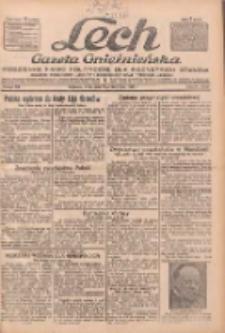"""Lech.Gazeta Gnieźnieńska: codzienne pismo polityczne dla wszystkich stanów. Dodatki: tygodniowy """"Lechita"""" i powieściowy oraz dwutygodnik """"Leszek"""" 1932.10.05 R.33 Nr229"""