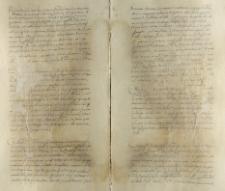 Rozstrzygnięcie sporu o dług miedzy Janem Kromerem a Brygidą Ferber ok. 1554