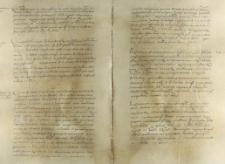 O zastąpienie na sejmiku kasztelana lubelskiego Floriana Zebrzydowskiego przez innego urzędnika, Wilno 06.10.1554