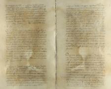 O przekazanie braciom Górkom starostwa wałeckiego, Toruń 19.06.1552