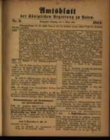 Amtsblatt der Königlichen Regierung zu Posen. 1910.03.01 Nro.9