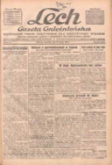 """Lech.Gazeta Gnieźnieńska: codzienne pismo polityczne dla wszystkich stanów. Dodatki: tygodniowy """"Lechita"""" i powieściowy oraz dwutygodnik """"Leszek"""" 1932.02.25 R.33 Nr45"""