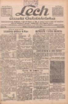 """Lech.Gazeta Gnieźnieńska: codzienne pismo polityczne dla wszystkich stanów. Dodatki: tygodniowy """"Lechita"""" i powieściowy oraz dwutygodnik """"Leszek"""" 1932.11.16 R.33 Nr264"""
