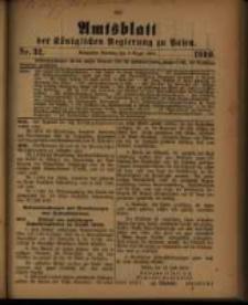 Amtsblatt der Königlichen Regierung zu Posen. 1910.08.09 Nro.32