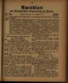 Amtsblatt der Königlichen Regierung zu Posen. 1910.09.06 Nro.36