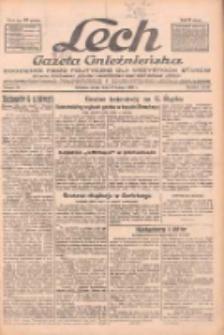 """Lech.Gazeta Gnieźnieńska: codzienne pismo polityczne dla wszystkich stanów. Dodatki: tygodniowy """"Lechita"""" i powieściowy oraz dwutygodnik """"Leszek"""" 1932.02.17 R.33 Nr38"""