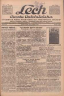 """Lech.Gazeta Gnieźnieńska: codzienne pismo polityczne dla wszystkich stanów. Dodatki: tygodniowy """"Lechita"""" i powieściowy oraz dwutygodnik """"Leszek"""" 1932.08.05 R.33 Nr178"""