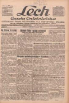 """Lech.Gazeta Gnieźnieńska: codzienne pismo polityczne dla wszystkich stanów. Dodatki: tygodniowy """"Lechita"""" i powieściowy oraz dwutygodnik """"Leszek"""" 1932.09.06 R.33 Nr204"""