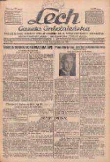 """Lech.Gazeta Gnieźnieńska: codzienne pismo polityczne dla wszystkich stanów. Dodatki: tygodniowy """"Lechita"""" i powieściowy oraz dwutygodnik """"Leszek"""" 1932.10.04 R.33 Nr228"""