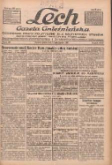 """Lech.Gazeta Gnieźnieńska: codzienne pismo polityczne dla wszystkich stanów. Dodatki: tygodniowy """"Lechita"""" i powieściowy oraz dwutygodnik """"Leszek"""" 1932.10.14 R.33 Nr237"""