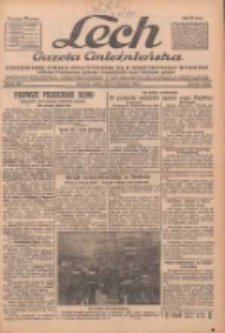 """Lech.Gazeta Gnieźnieńska: codzienne pismo polityczne dla wszystkich stanów. Dodatki: tygodniowy """"Lechita"""" i powieściowy oraz dwutygodnik """"Leszek"""" 1932.11.05 R.33 Nr255"""