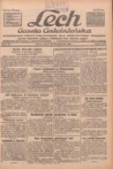 """Lech.Gazeta Gnieźnieńska: codzienne pismo polityczne dla wszystkich stanów. Dodatki: tygodniowy """"Lechita"""" i powieściowy oraz dwutygodnik """"Leszek"""" 1932.10.25 R.33 Nr246"""