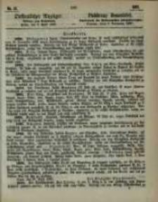 Oeffentlicher Anzeiger. 1867.04.09 Nro.15