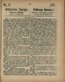 Oeffentlicher Anzeiger. 1870.04.19 Nro.16