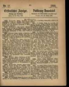 Oeffentlicher Anzeiger. 1868.03.24 Nro.12