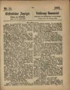 Oeffentlicher Anzeiger. 1868.06.16 Nro.24