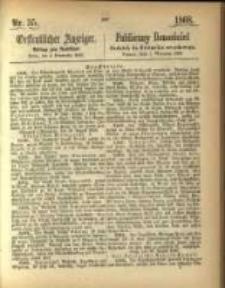 Oeffentlicher Anzeiger. 1868.09.01 Nro.35