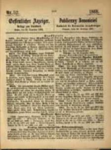 Oeffentlicher Anzeiger. 1868.12.29 Nro.52