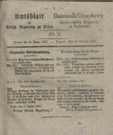 Amtsblatt der Königlichen Regierung zu Posen. 1835.01.13 Nro.2