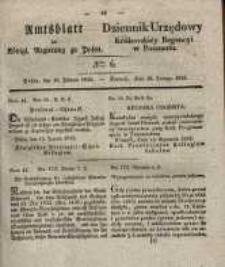 Amtsblatt der Königlichen Regierung zu Posen. 1835.02.10 Nro.6