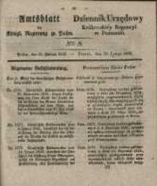 Amtsblatt der Königlichen Regierung zu Posen. 1835.02.24 Nro.8