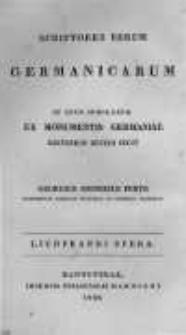 Liudprandi Episcopi Cremonensis Opera omnia