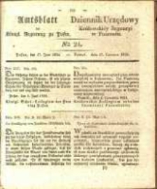 Amtsblatt der Königlichen Regierung zu Posen.1834.06.17 Nro.24