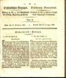 Oeffentlicher Anzeiger. 1827.02.27 Nro.9