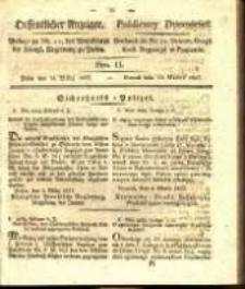 Oeffentlicher Anzeiger. 1827.03.13 Nro.11