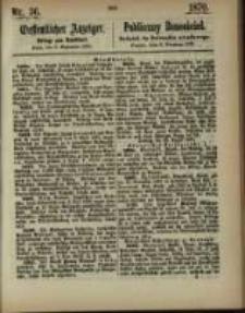 Oeffentlicher Anzeiger. 1870.09.06 Nro.36