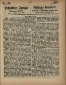 Oeffentlicher Anzeiger. 1870.11.29 Nro.48