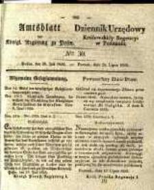 Amtsblatt der Königlichen Regierung zu Posen. 1835.07.28 Nro.30