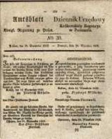 Amtsblatt der Königlichen Regierung zu Posen. 1835.09.29 Nro.39