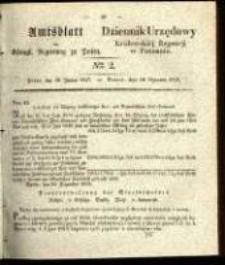 Amtsblatt der Königlichen Regierung zu Posen. 1837.01.10 Nro.2