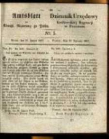 Amtsblatt der Königlichen Regierung zu Posen. 1837.01.31 Nro.5