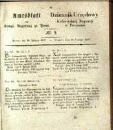Amtsblatt der Königlichen Regierung zu Posen. 1837.02.28 Nro.9