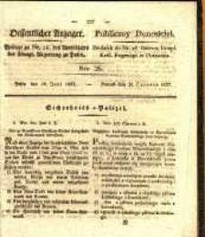 Oeffentlicher Anzeiger. 1827.06.26 Nro.26
