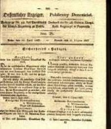 Oeffentlicher Anzeiger. 1827.07.10 Nro.28